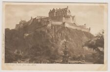 Midlothian postcard - Edinburgh Castle from the North