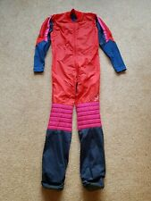 Skydiving Symbiosis Jumpsuit FS RW red pink Blue small Skydive Suit Booties