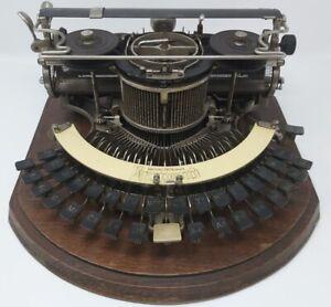 Typewriter Macchina per Scrivere Hammond No.2 da Museo 1893HAM Collezione Rara