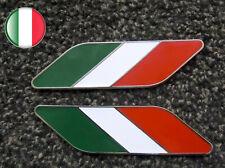 KIT BANDIERA FLAG ITALIA ITALY SMALTATE A MANO TUNING ALFA ROMEO MITO GIULIETTA