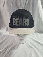 VINTAGE 90'S 80'S HERSHEY BEARS SNAPBACK CAP HAT SPELLOUT GREAT CONDITION