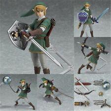 The Legend of Zelda: Twilight Princess Link Figure Figma 320 Model Toy in Box #@