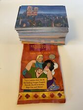 DISNEY'S THE HUNCHBACK of NOTRE DAME ANIMATED MOVIE - COMPLETE 101 CARD SET!!!