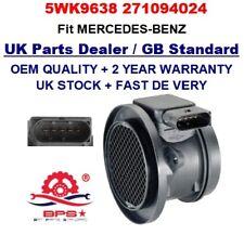 Mass Air Flow meter Sensor 5WK9638 2710940248 OEM for Mercedes Benz C-class