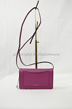 MARC By Marc Jacobs M0008178 Recruit Crossbody/Shoulder Wallet Bag in Wild Berry