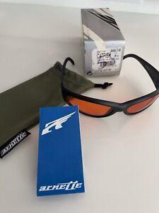Vintage Arnette Catfish Sunglasses Black/Orange 222-0124