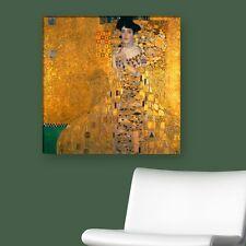 """WANDKINGS Leinwandbild Gustav Klimt - """"Bildnis der Adele Bloch-Bauer"""" ver. Größe"""
