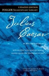 Julius Caesar (Folger Shakespeare Library) - Mass Market Paperback - GOOD