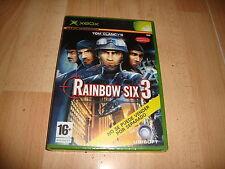 RAINBOW SIX 3 TOM CLANCY'S DE UBISOFT PARA LA PRIMERA XBOX NUEVO PRECINTADO