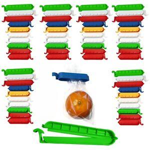 30 Stück Verschluss Clips Beutel Gefrierbeutel Frischhalteclips Klammern Clip