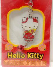 Sanrio Hello Kitty Cell Phone Strap Charm Chinese Traditional Theme kawaii