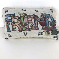 Mary Engelbreit FRIENDS Decorative Tapestry Throw Toss Pillow Cushion
