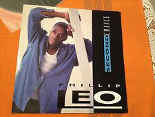 "PHILLIP LEO - Second Chance - 1994 UK 12"" Vinyl RARE RnB/SWING 5 mixes  VG/VG+"