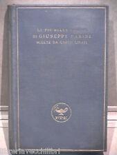 LE PIU BELLE PAGINE DI GIUSEPPE PARINI Scelte da Carlo Linati Letteratura di e