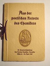 De la poétique Made du chimiste - 1927 Essen