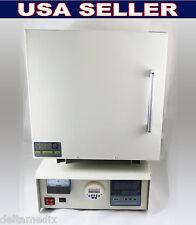 Dental Laboratory Digital Electric Furnace Lab Ceramic Fiber Burnout Oven dentQ
