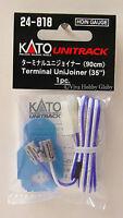 "Kato 24818 HO/N Terminal UniJoiner (35"" Long Wire) 1pc. New"