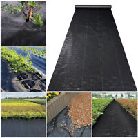 Heavy Duty Landscape Fabric PP Garden Weed Barrier Woven Block Mat Ground Cover