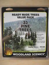 N/HO- Woodland Scenics - ref.TR1580 - 33 pinos (5,1 - 10,2 cm)