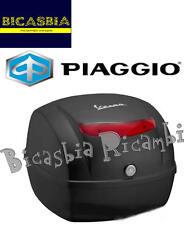 9418 - BAULETTO POSTERIORE 32 LT NERO VULCANO 98/A VESPA 50 125 150 LX