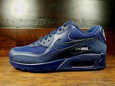 Nike Air Max 90 Essential Size 13 Midnight Navy Blue White Mens Aj1285-404