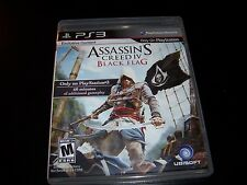 Replacement Case (NO GAME) ASSASSINS CREED IV BLACK FLAG  PS3 PLAYSTATION 3
