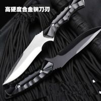 Tactical Fixed Blade Knife Camping Tool Straight Knife Hunting Knife with Sheath