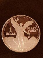 PROOF Silver Libertad 1986  1oz Onzas Plata Pura Mexico Mint-  Classic Libertad