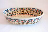 Geschenk Auflaufform - Servierschale aus Bunzlauer Keramik Handarbeit nh3214