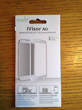 NEW SEALED Moshi iVisor AG ADVANCED Screen Protector Samsung S3 WHITE 99MO020919