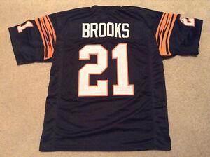 UNSIGNED CUSTOM Sewn Stitched James Brooks Black Jersey - M, L, XL, 2XL, 3XL