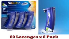 NiQuitin minis 1.5mg Mint Lozenges 60 in Pack 6  (Expiry June-2022)