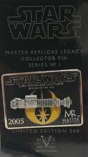Star Wars Master Replicas Luke Skywalker Lightsaber Pin Rare 2005 Limited Mr