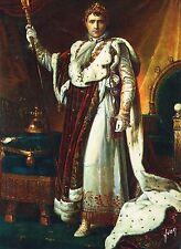 Alte Kunstpostkarte - Gerard - Napoléon en costume du Sacre