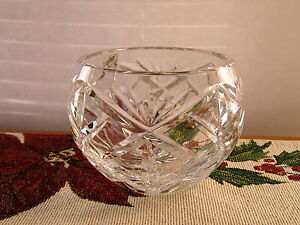 Crystal Clear Industries Essex Rose Bowl