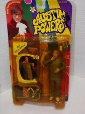 McFarlane Toys Austin Powers Dr Evil &Cat Voice Chip Talking Action Figure Nos
