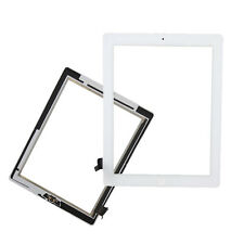 Touch Screen Glass Digitizer + Home Button for iPad 2 A1395 A1397 A1396 White