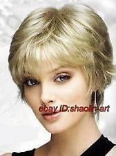 Wigs,blonde court Bouclé santé cosplay Costume cheveux