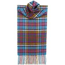 Lochcarron of Scotland 100% Lambswool Anderson Clan Tartan Scarf New w/ Tags