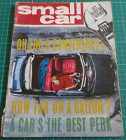 Small Car Magazine 1964 Test MGB - Test: Vauxhall Viva vs Hillman Imp