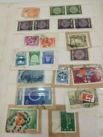 A Lots 150 From Stamps Israel Postage Album Pictures Signed