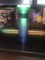 New! Summer 2020 Starbucks Blue/Green Hombre 16oz Acrylic Tumbler