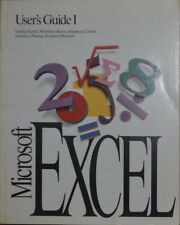 Microsoft Excel v4 User's Guide 1 and 2 (1992)