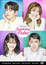 Suspicious Partner Korean Drama (4DVDs) Excellent English & Quality!