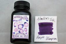 NOODLERS FOUNTAIN PEN INK 3 OZ BOTTLE PURPLE WAMPUM