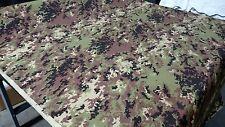 "ITALIAN ARMY CAMO NY/CO RIPSTOP FABRIC 66""W FABRIC CAMOUFLAGE MILITARY MIL SPEC"