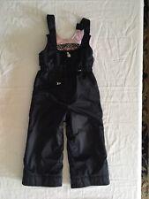 Obermeyer Waterproof Ski Snow Suit Pants Bibs Kids Girls Size 4 Snowsuit X-small