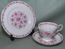 Royal Tuscan Love in a mist Bone China Trio Tasse Thé Soucoupe Assiette Pat.822 (Blanc)