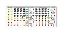 VOLTRON 3 SERGE PANEL SEQUENCER SYNTH + POWER SUPPLY DIY KIT MODULAR SYSTEM