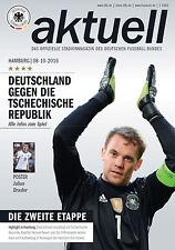 WM-Qualifikation 08.10.2016 Deutschland - Tschechien + Poster Julian Draxler